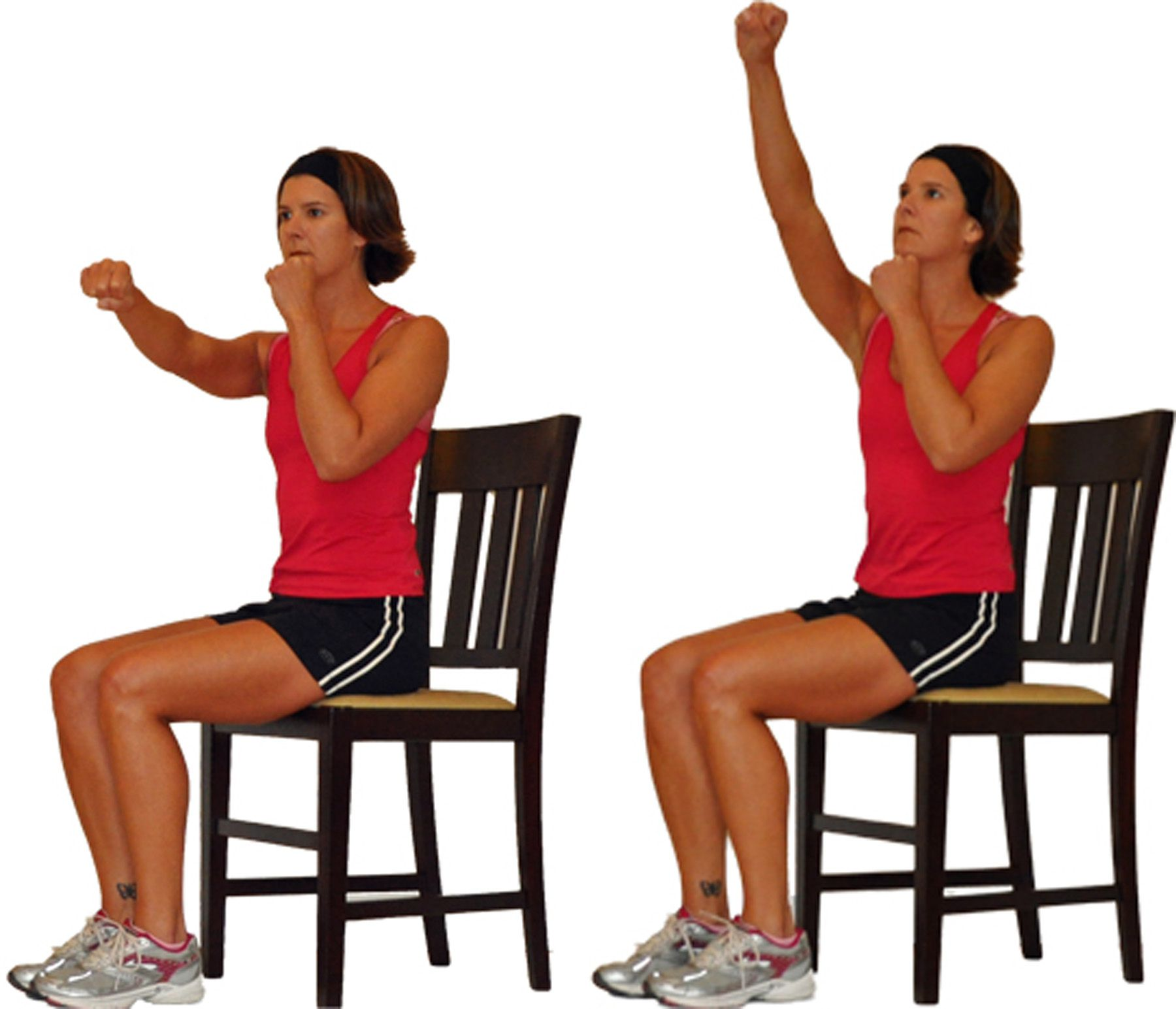 chair gym weight loss fabric for recovering dining chairs seated upper body workout