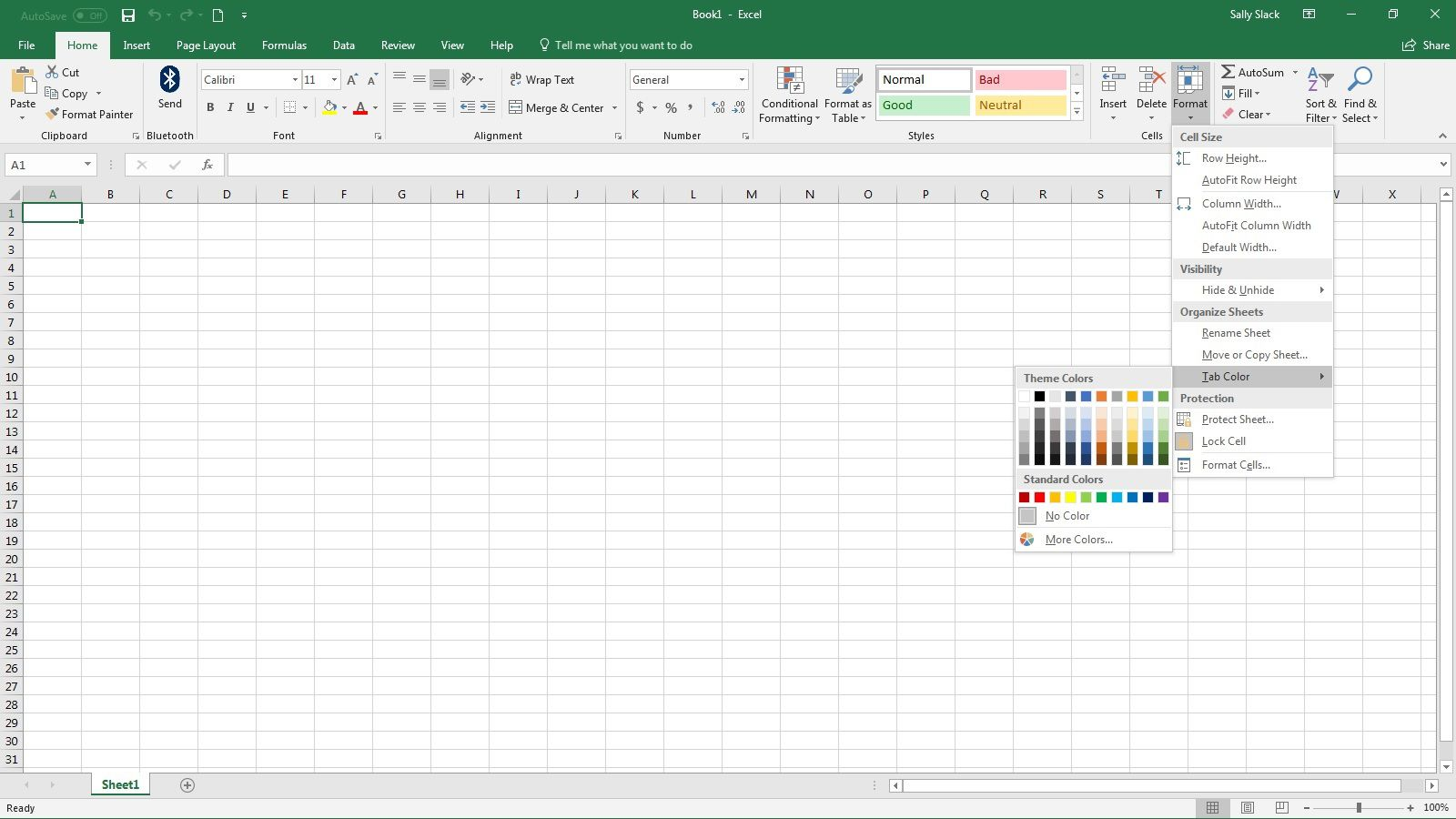 Worksheet Tabs Disappeared In Excel