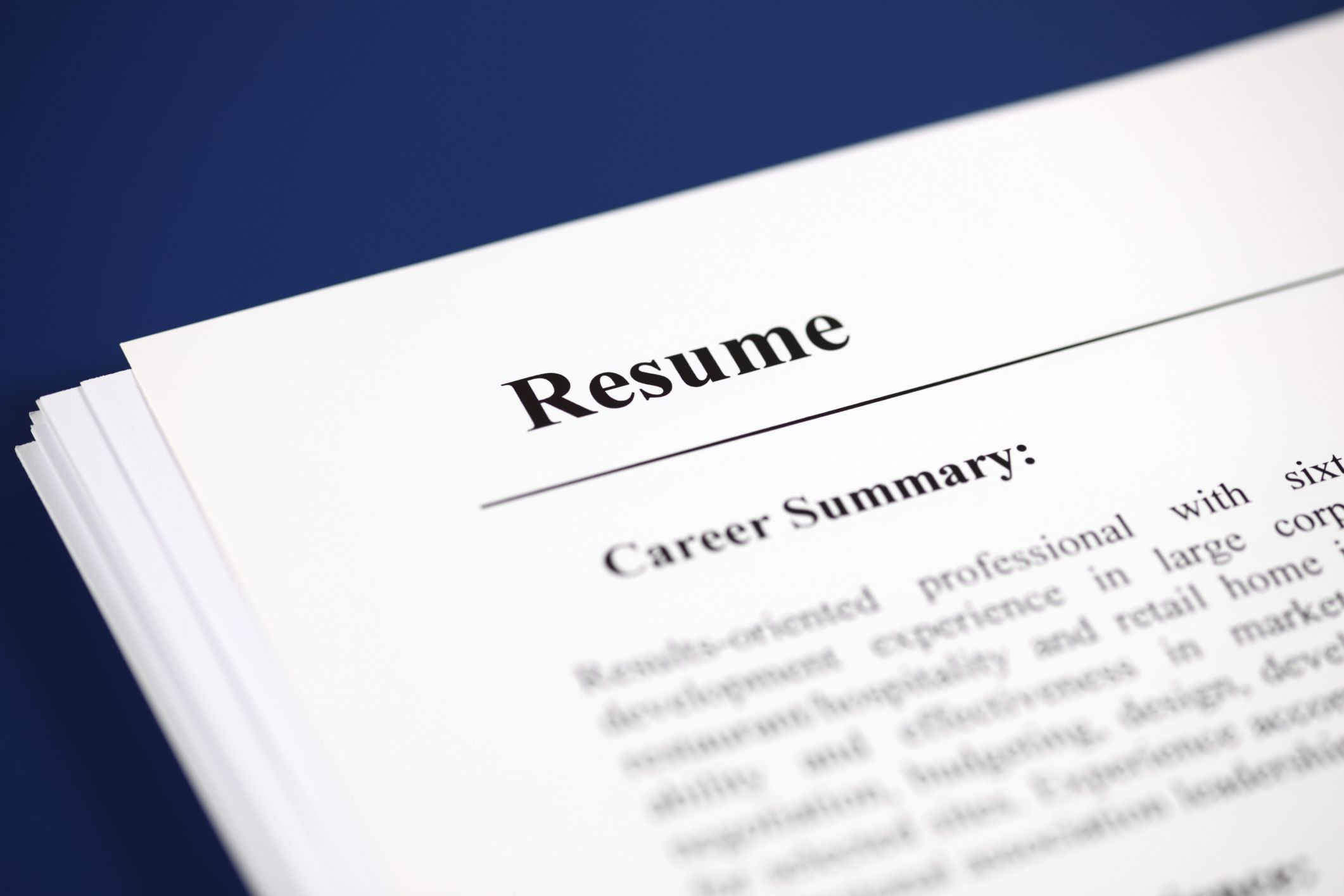 What Is A Summary Of Qualifications On A Resume?