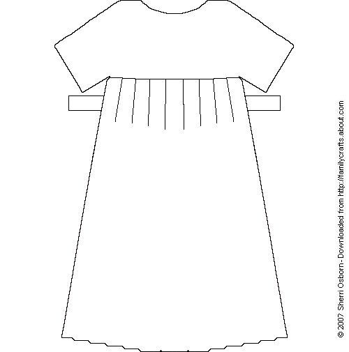 Printable Paper Doll Dresses and Skirts