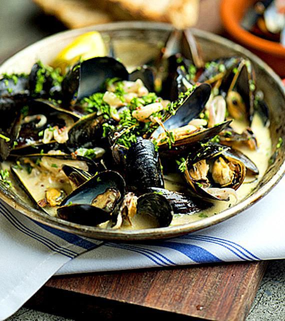 painting ideas for kitchen used tables mussels recipe, best ever!