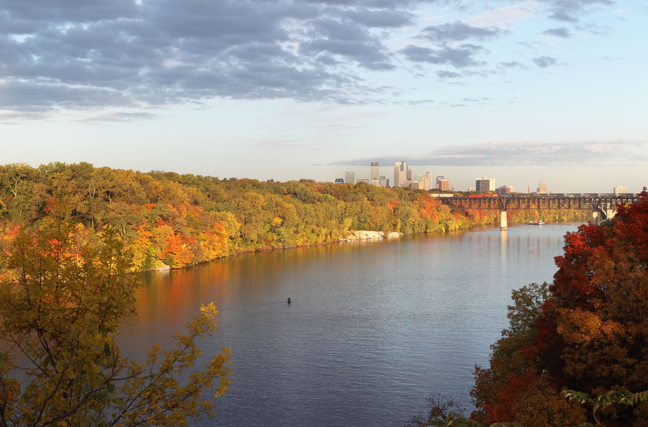 Where To See Fall Color In Minneapolis And St Paul