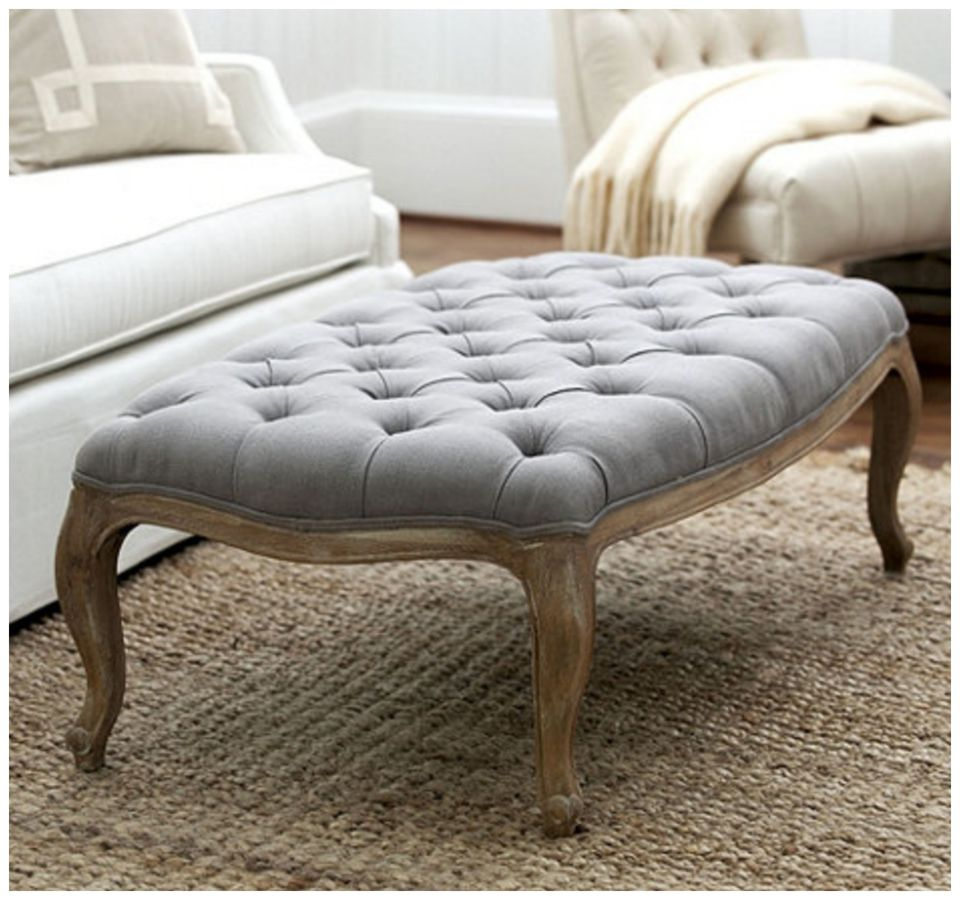 Image Result For How To Make A Tufted Ottoman From A Coffee Tablea
