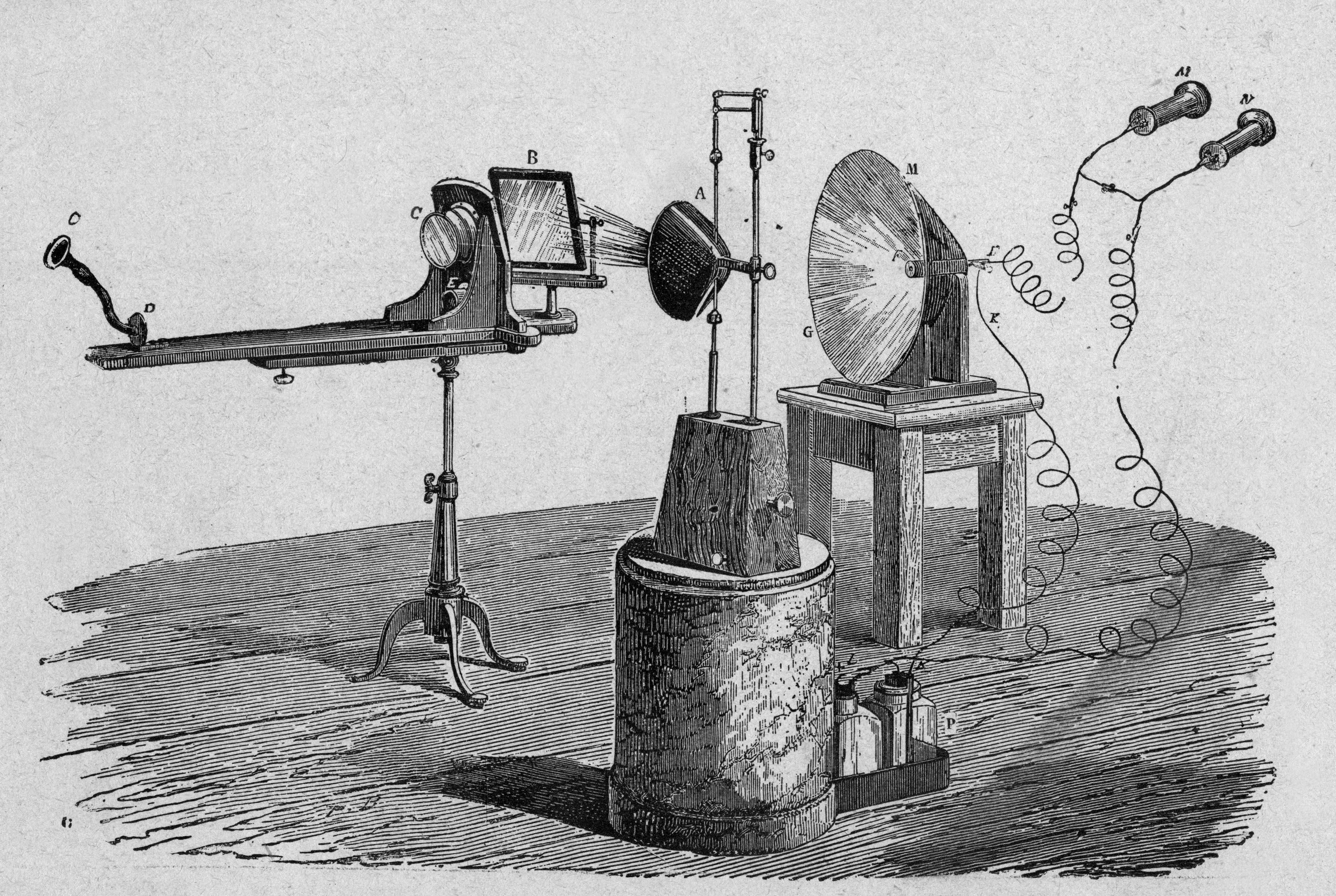 Alexander Graham Bell And The Photophone