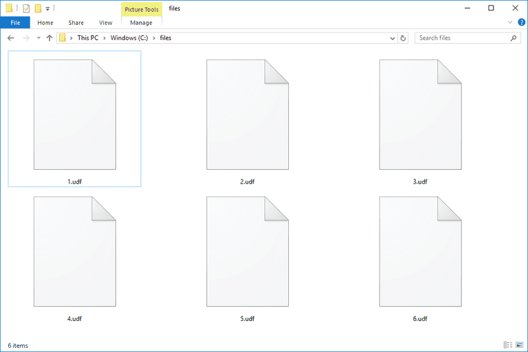 UDF File (What It Is and How to Open One)