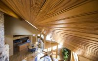 Ceiling Wood Tongue and Groove Installation