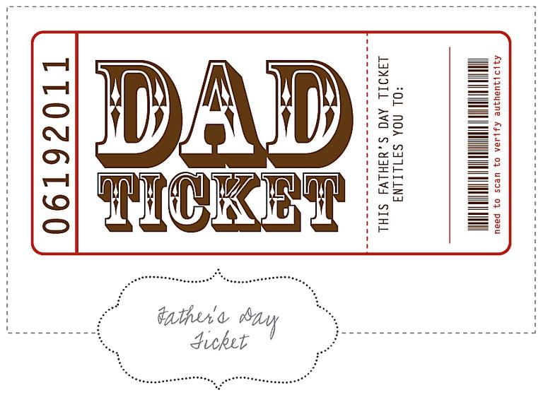 11 Free Printable Fathers Day Coupon Books