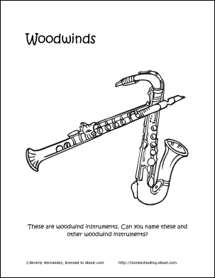 Musical Instruments Word Search, Crossword Puzzle and More