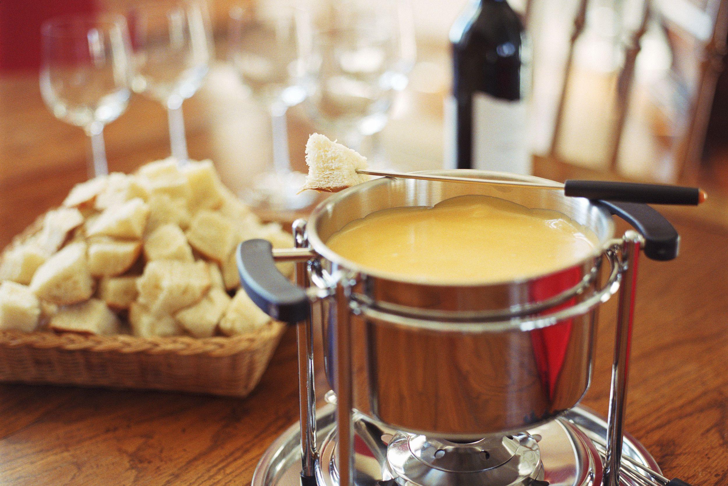 Cheese Fondue Recipe With Brandy or Cognac