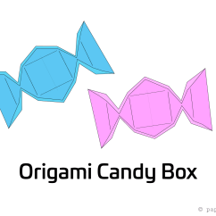 Diagram Origami Bracelet Electric Trailer Brakes Breakaway Wiring Candy Box Instructions