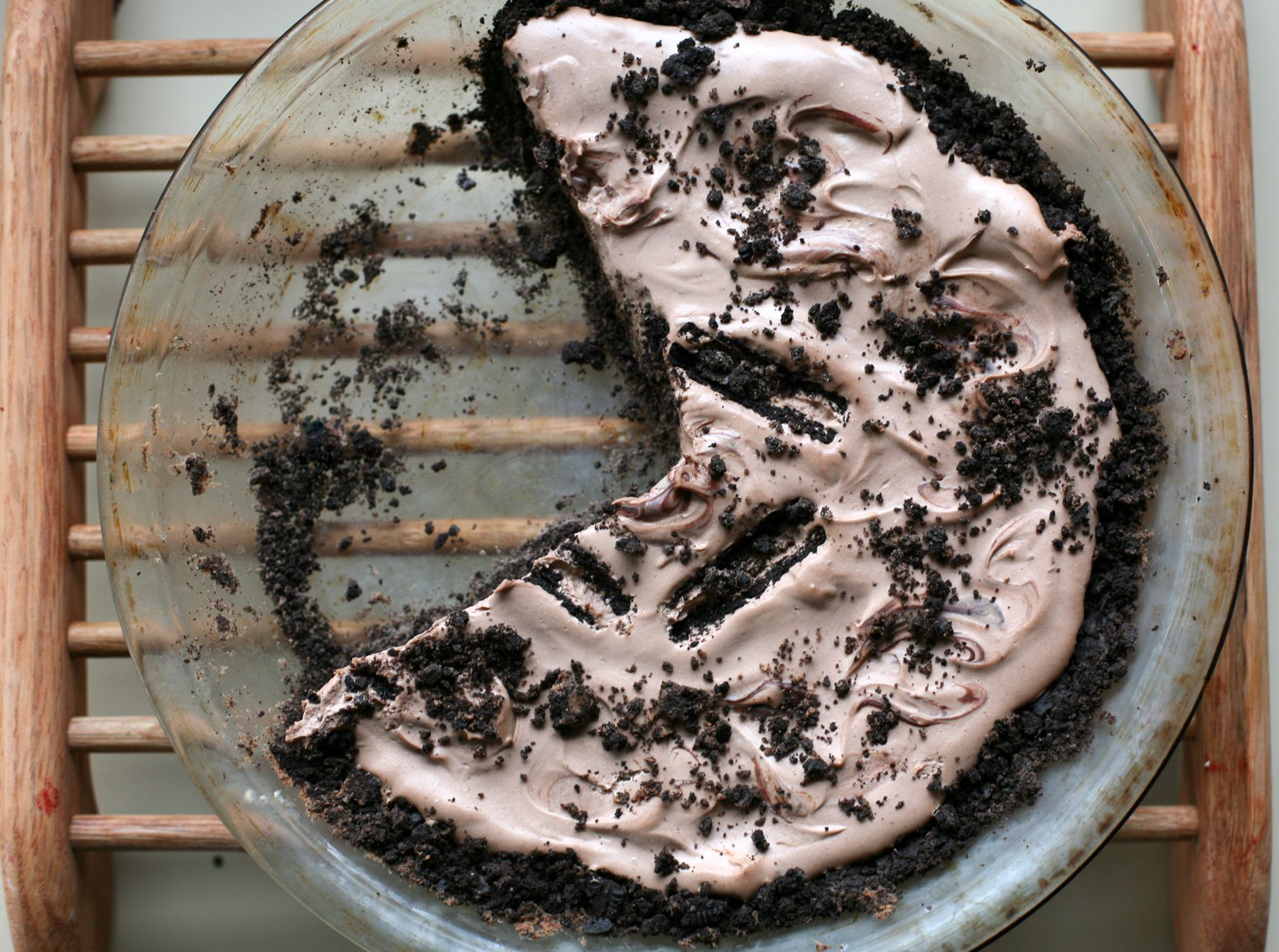 DairyFree Oreo Cookie Pie Crust Recipe