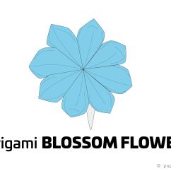 Christmas Origami Flower Diagram Ford Fiesta Mk6 Radio Wiring How To Make A Pretty Blossom