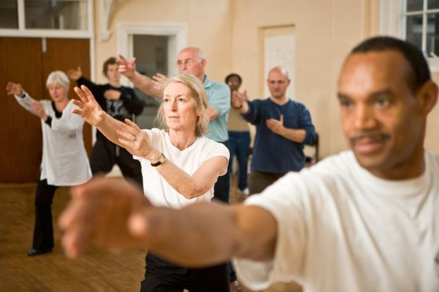 Image result for Effects of t'ai chi exercise on fibromyalgia symptoms and health related quality of life.