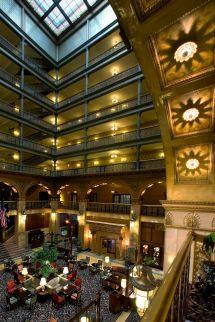 High Tea Denver Brown Palace Hotel