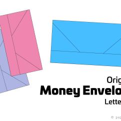 Diagram Origami Bracelet 1999 Honda Civic Engine Money Envelope Letter Fold Tutorial