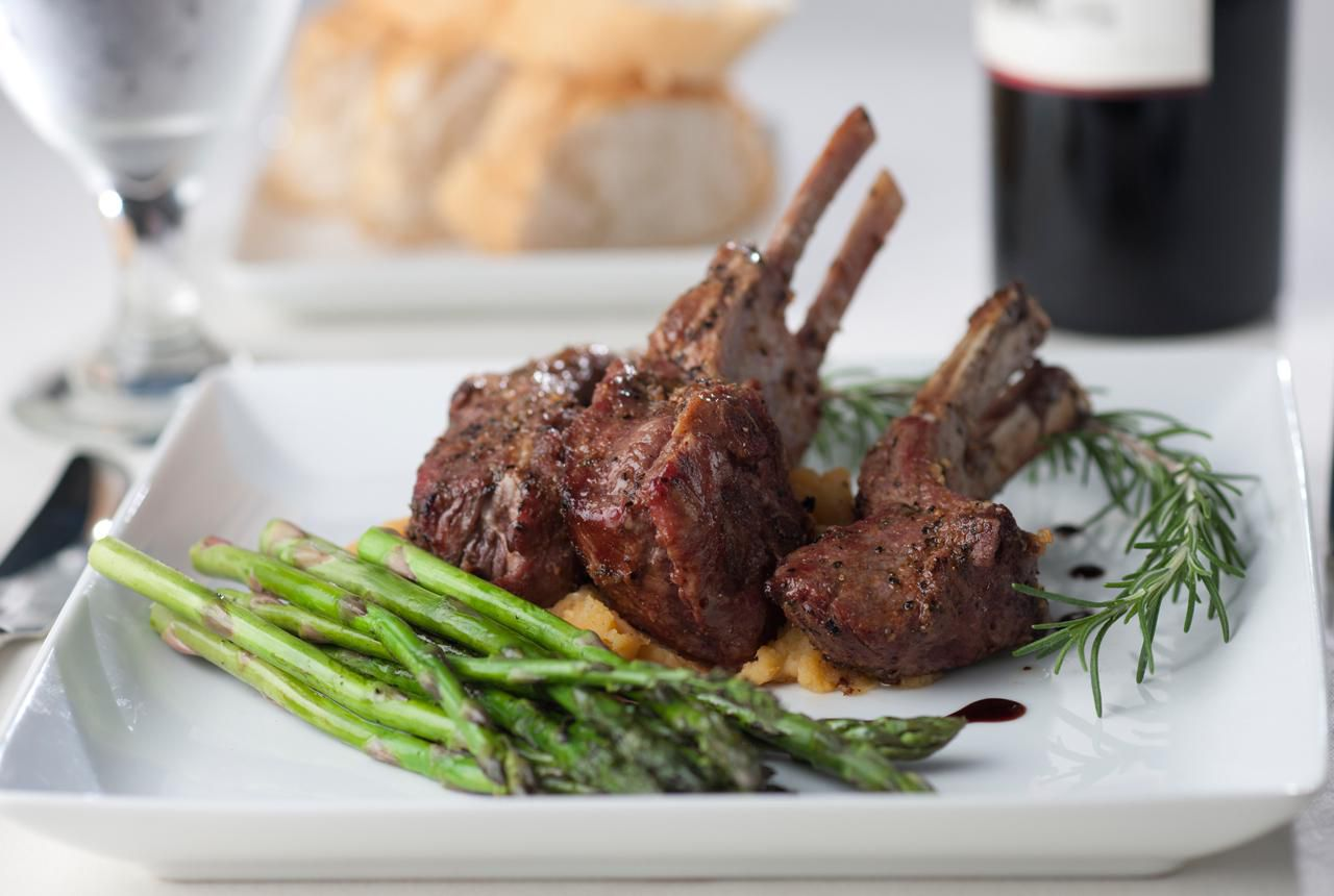 Rack Of Lamb With Red Wine Sauce Recipe