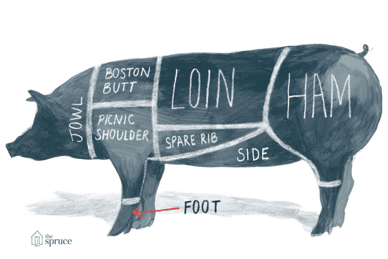 pig cuts diagram 1999 gmc jimmy radio wiring of pork and chart