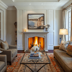 Decorating With Large Mirrors Living Room Marble Floor Designs For How To Make A Look Expensive