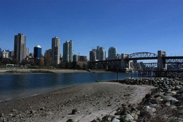 In Vanier Park Vancouver