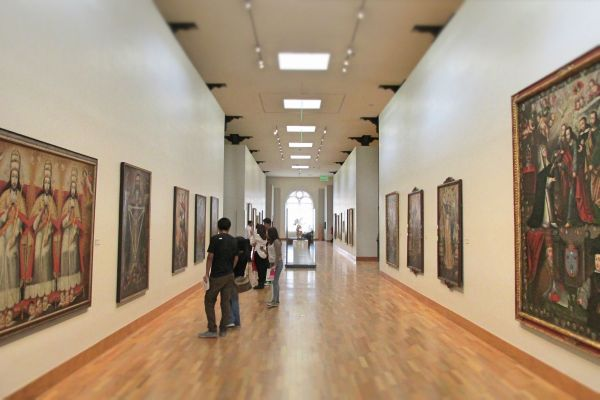 Eclectic Art Museums In Lima Peru