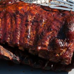 Kitchen Games Cooking Remodeling Lincoln Ne Hoisin-glazed Barbecue Pork Spare Ribs Recipe