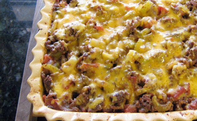 Southwestern Style Beef And Potato Casserole Recipe