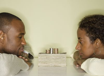 Image result for couples discuss money