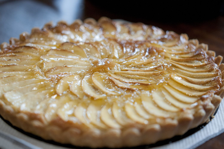 green apple kitchen decor decorate classic french tarte aux pommes recipe