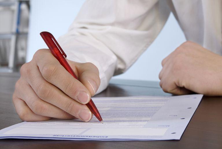Job Application Form Sample