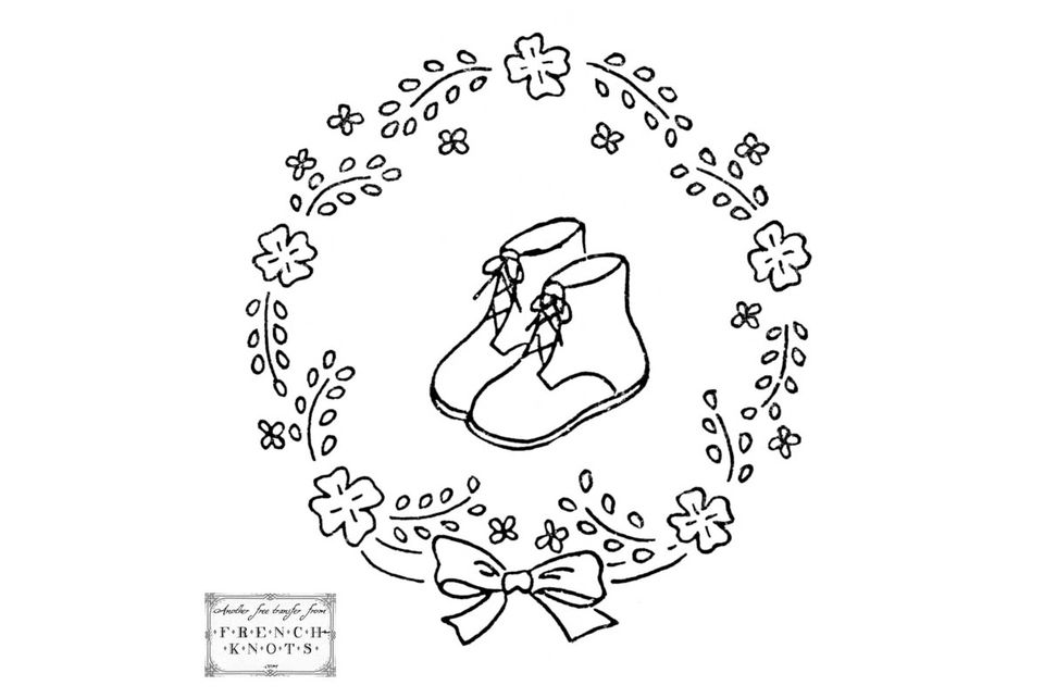 10 Hand Embroidery Patterns for the Nursery