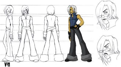 Animation Character Sheet/Character Breakdown Basics
