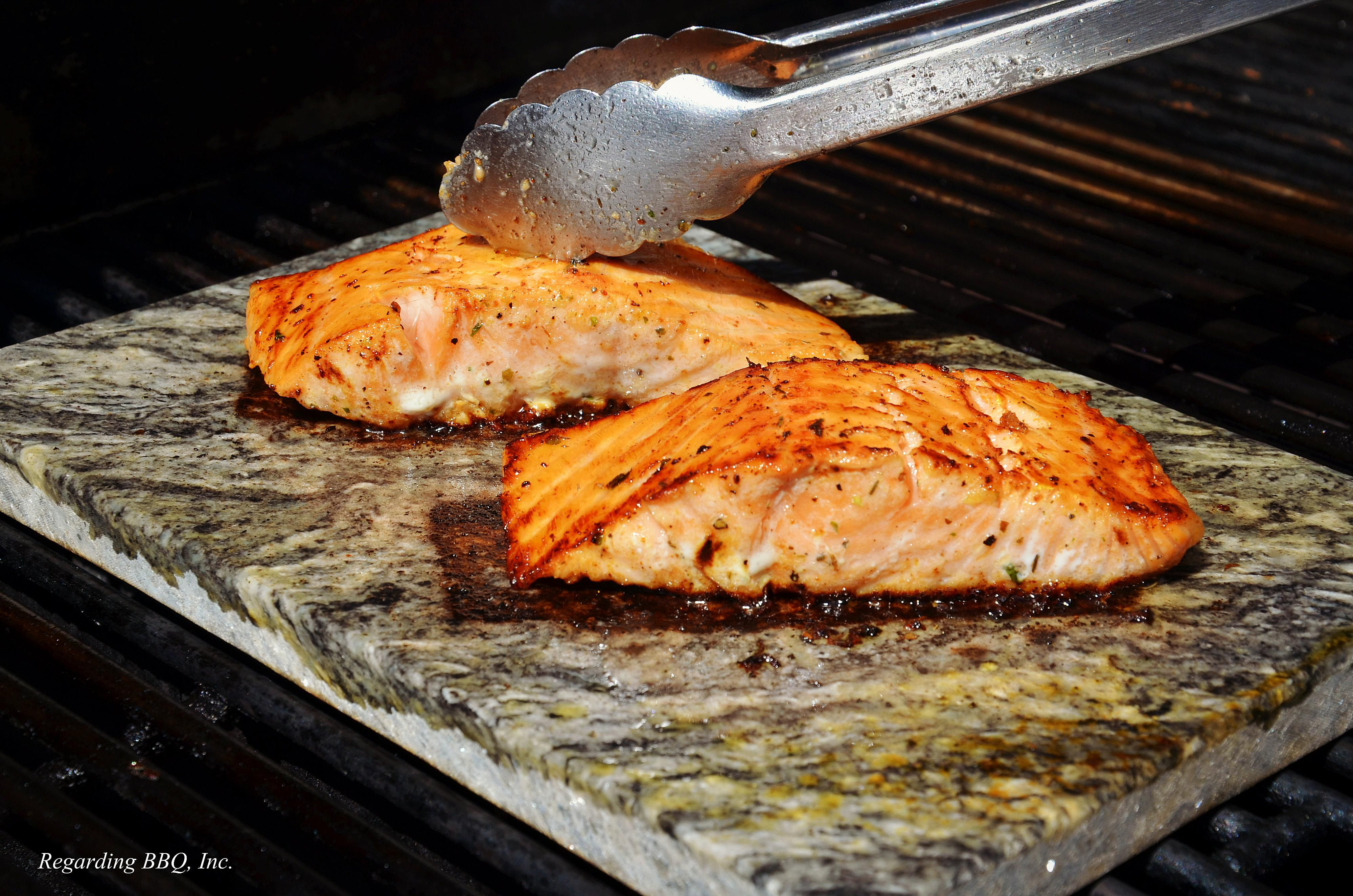 Grilled Salmon With Thyme And Lemon Recipe