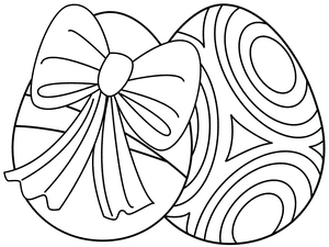 217 Free, Printable Easter Egg Coloring Pages