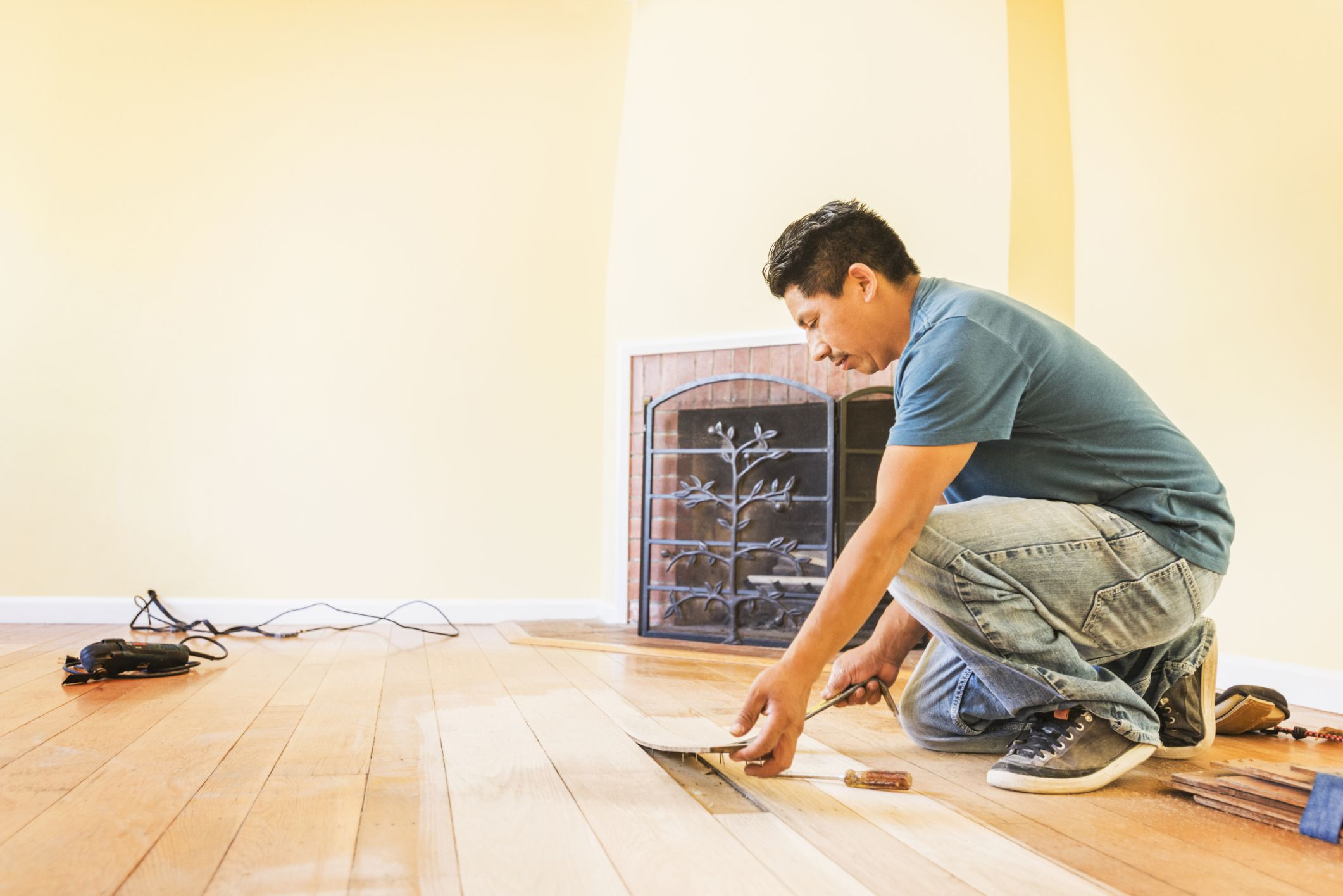 laminate or engineered wood flooring for kitchen accessories store solid hardwood costs - professional vs. diy