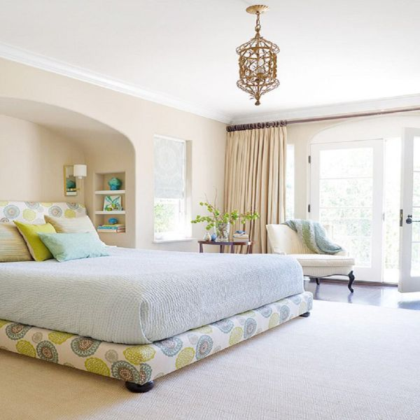 peaceful master bedroom Peaceful Bedroom Colors and Decorating Ideas