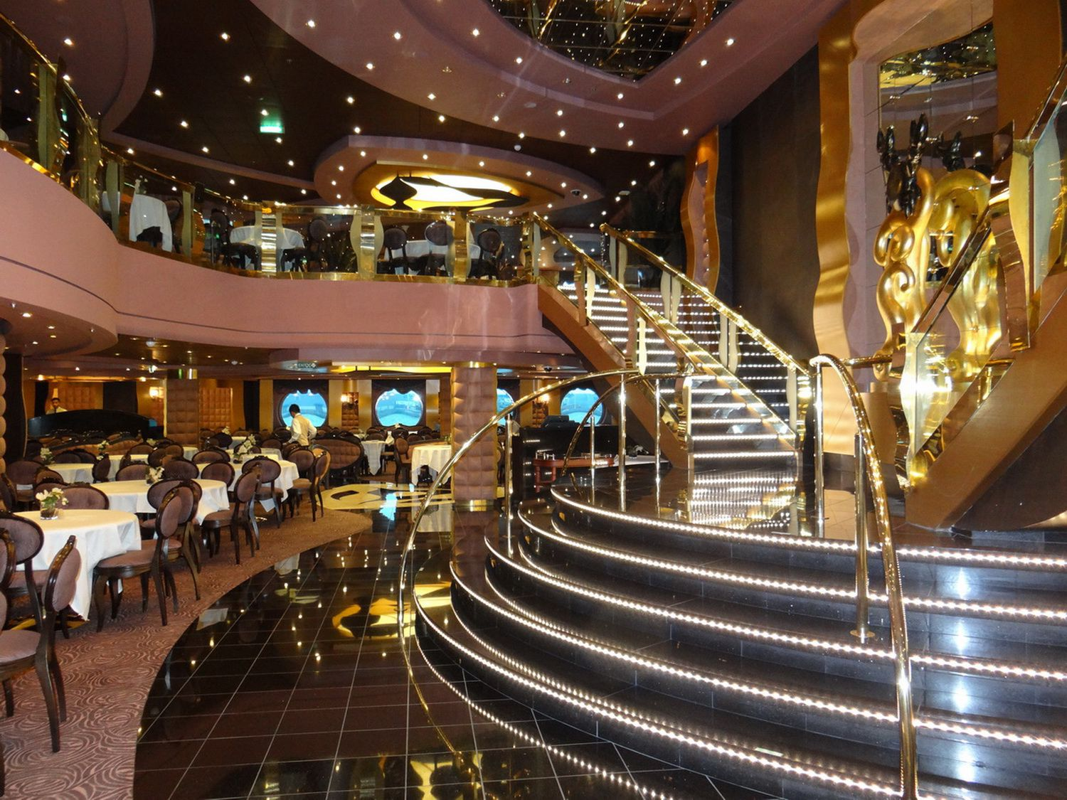 Dining On The MSC Divina Cruise Ship