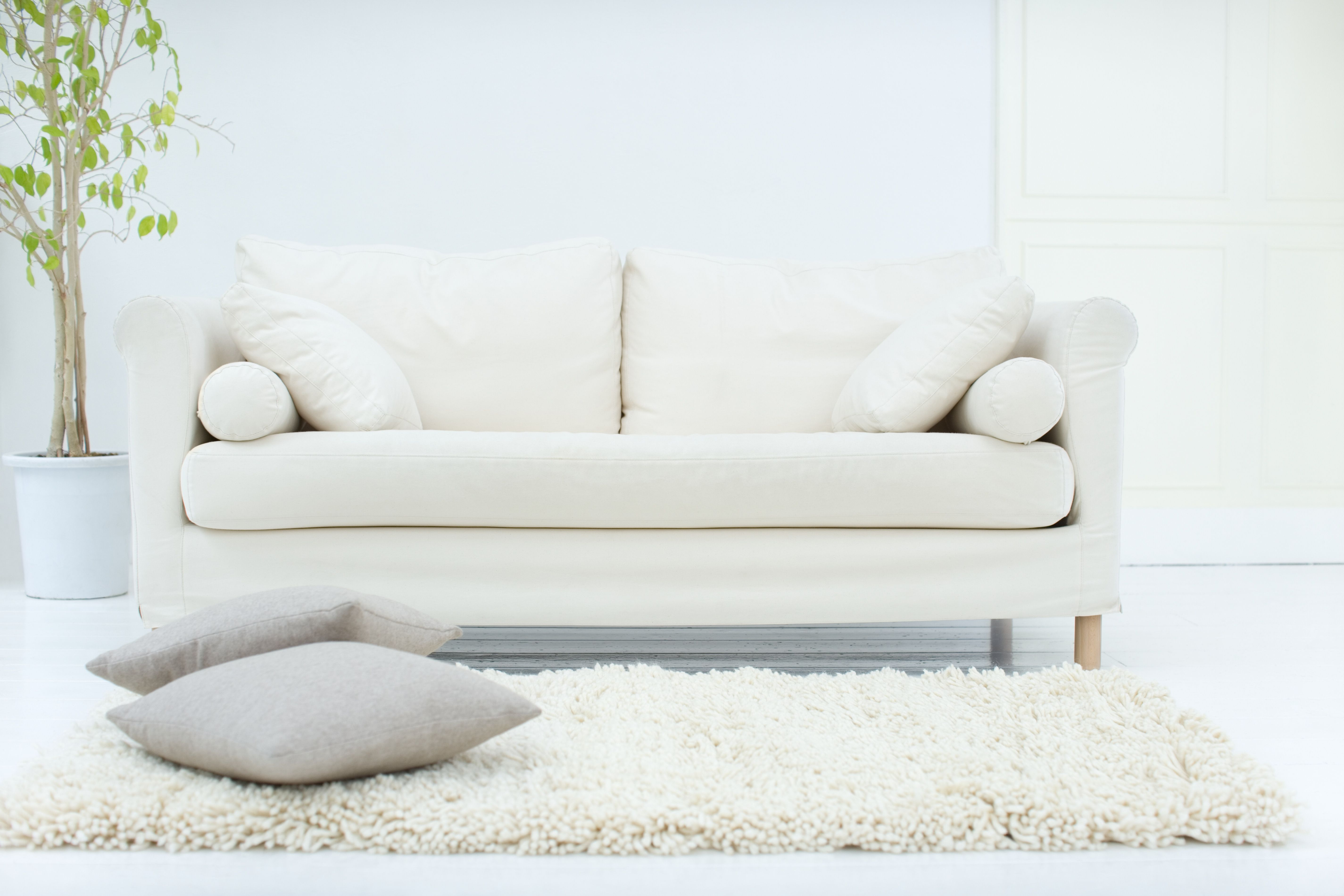 cleaning down filled sofa cushions black leather recliner and chair how to judge the quality of a
