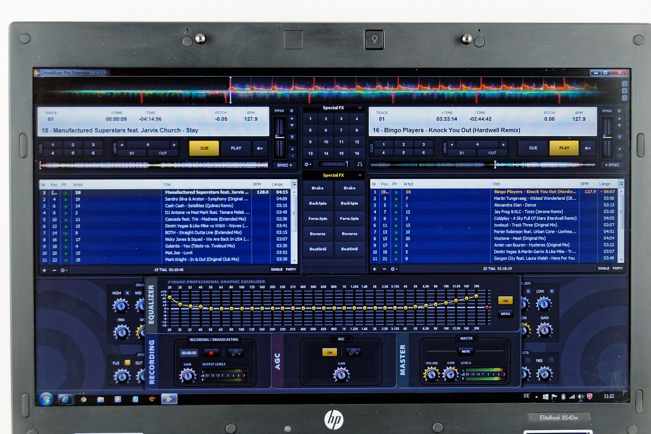 Mixer Software Dj Laptop