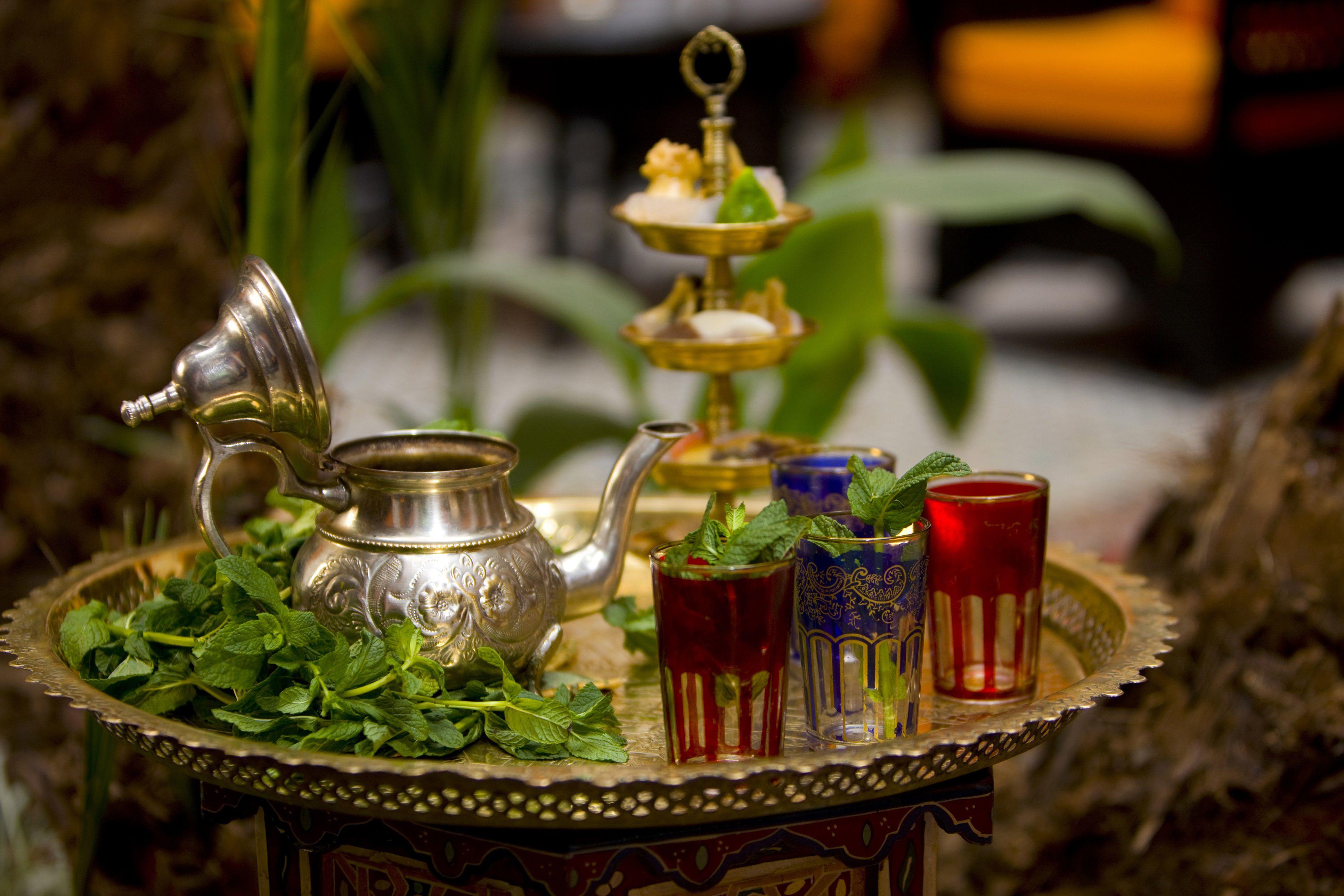 Moroccan Mint Tea Recipe  Atay Bi Nana