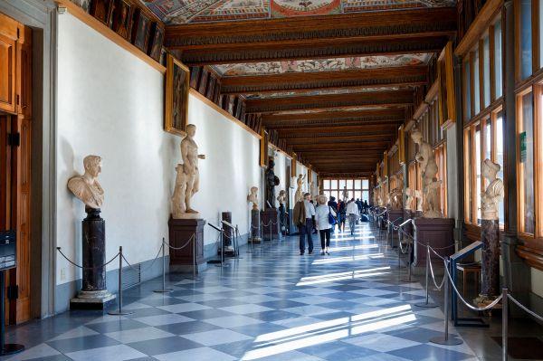Galleria Degli Uffizi Florence Italy