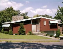 1950s Modern Ranch Style House