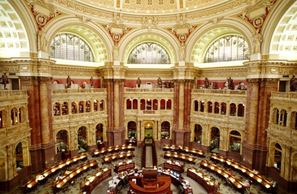 Visitor' Guide Library Of Congress