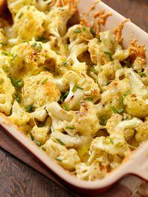 Cauliflower Casserole With Cheese Recipe