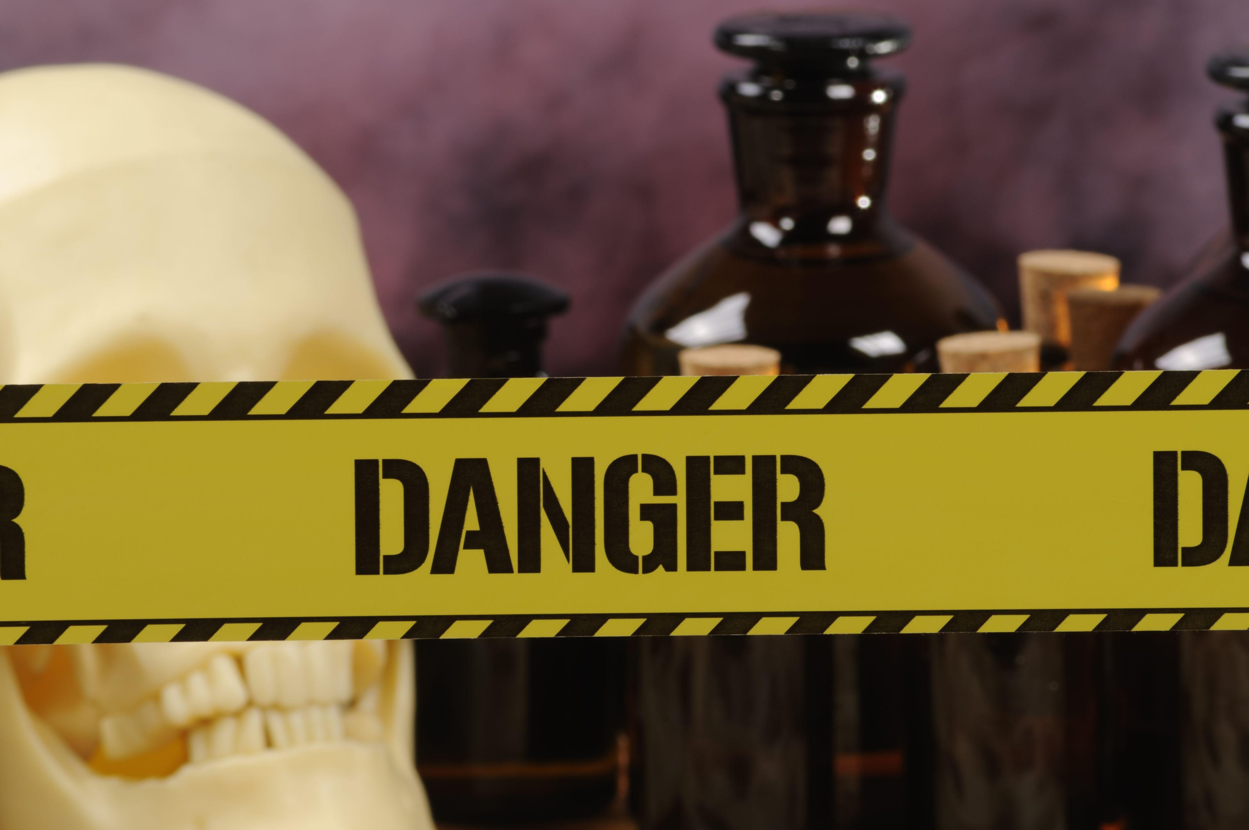 Lab Safety Sign Quiz Hazard Symbols