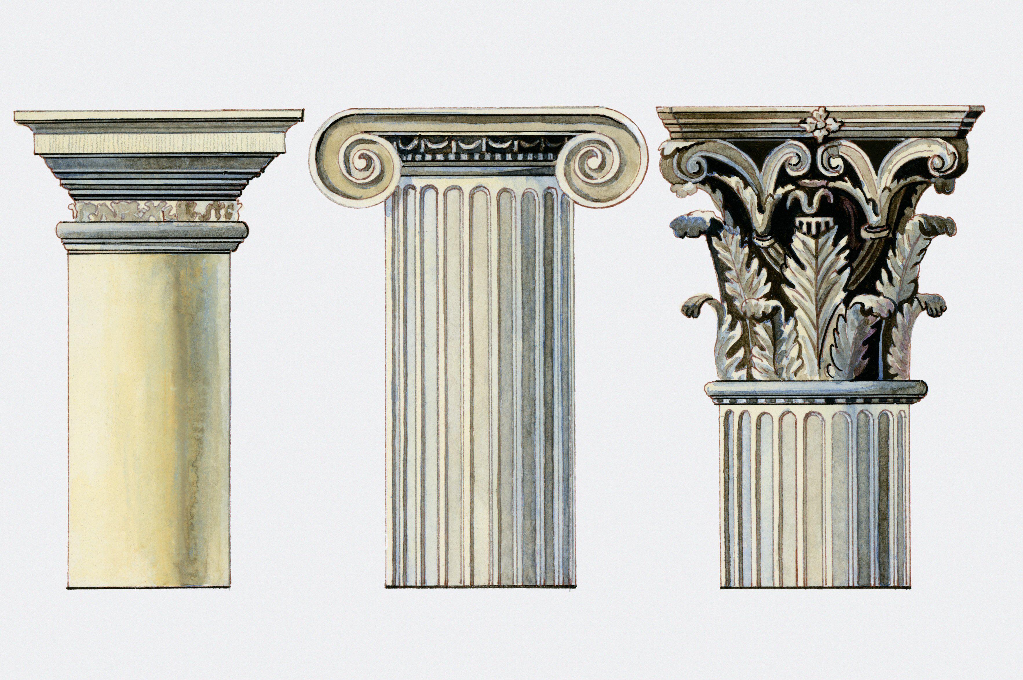 Greek Architecture Ionic Worksheet