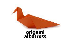 Easy Origami Albatross Bird Diagram