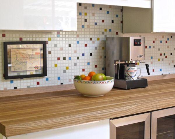 mosaic tile kitchen Mosaic Tile Ideas For Kitchen and Bathroom