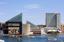 Baltimore Inner Harbor Maryland