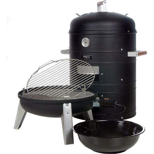 Meco Combination Electric Smoker Grill 5030