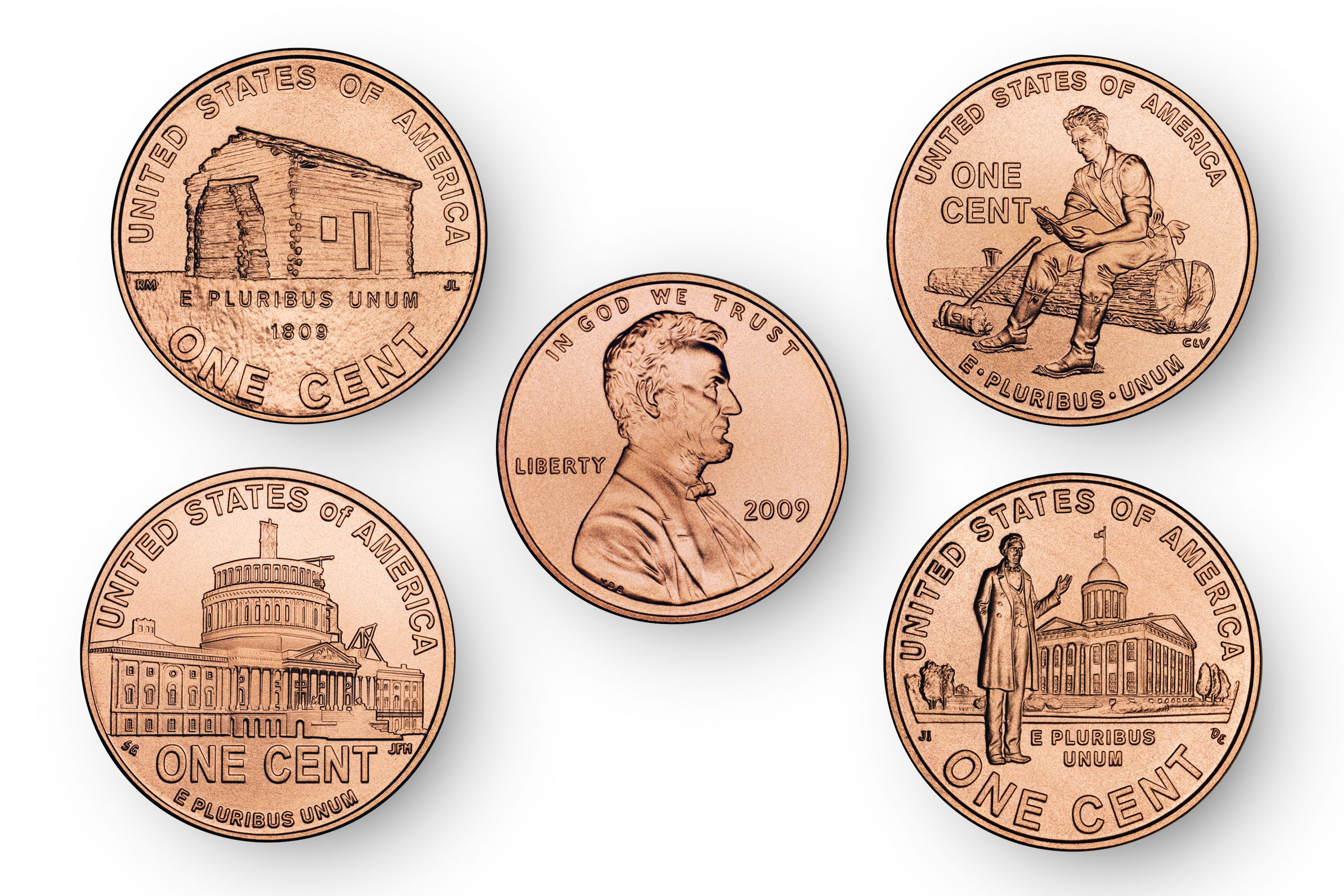 Designs For Lincoln Pennies In